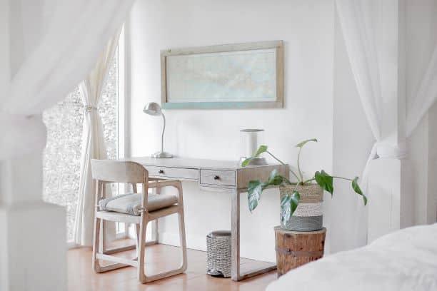 Texture-rich Bedroom