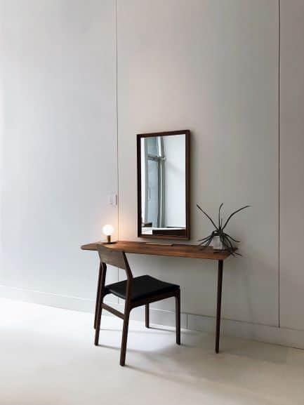 Asymmetrical balance at desk