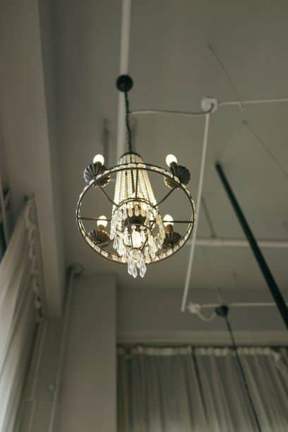 Radial symmetry and balance in light fixture, chandelier