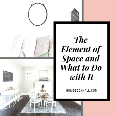 The Element of Space and What to Do with It