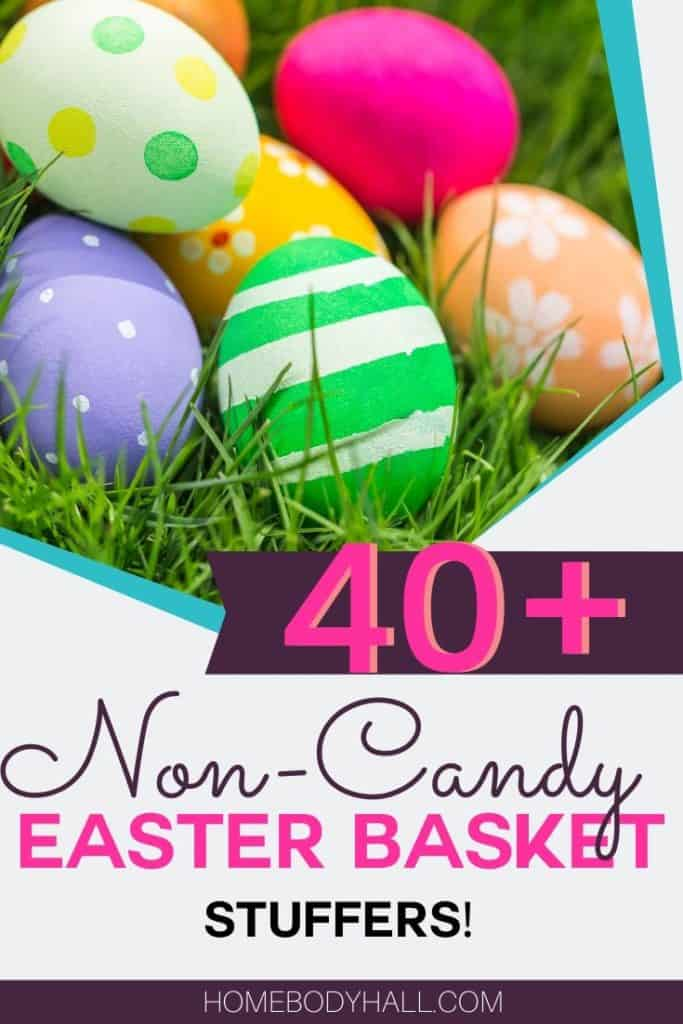 40+ Non-Candy Easter Basket Stuffers