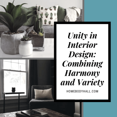 Unity in Design Combining Harmony and Variety , Homebody Hall