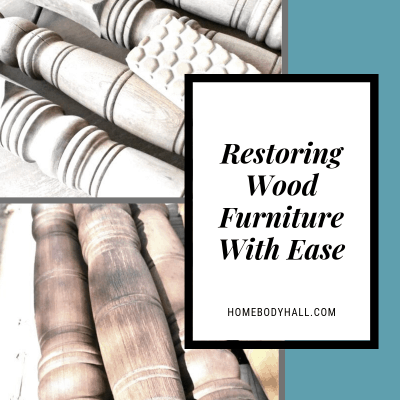 Restoring Wood Furniture with Ease