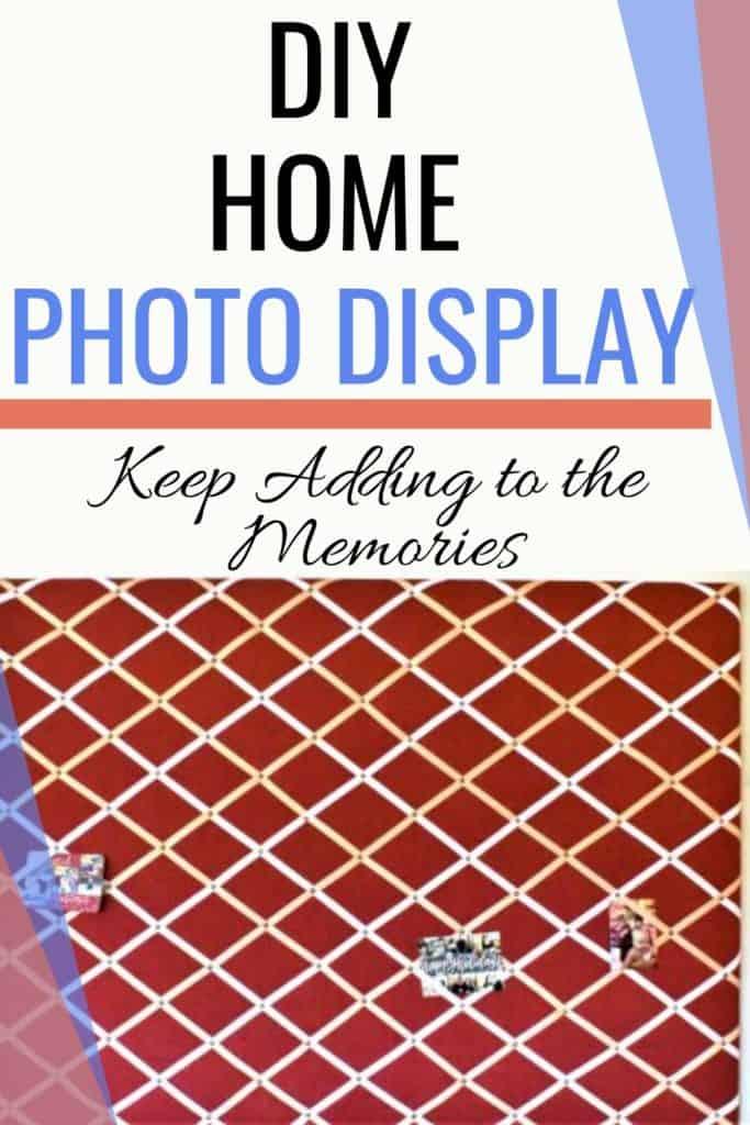 DIY Home Photo Display