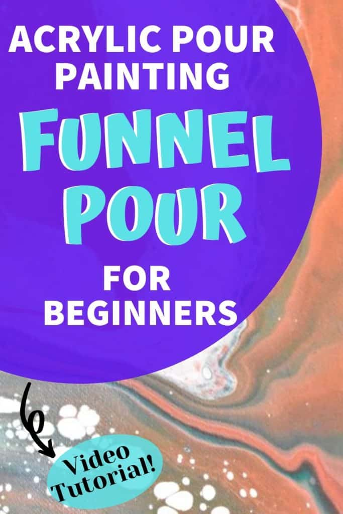 Acrylic Paint Pouring Funnel Pour for Beginners