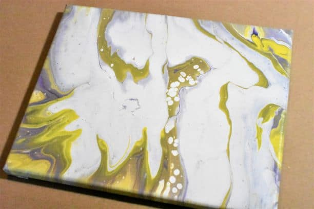 Day 11 Acrylic Pouring Color Theory Series