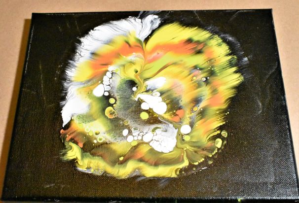 Day 14 Acrylic Pouring Color Theory Series