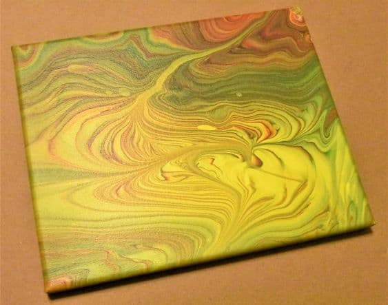 Day 15 Acrylic Pouring Color Theory Series