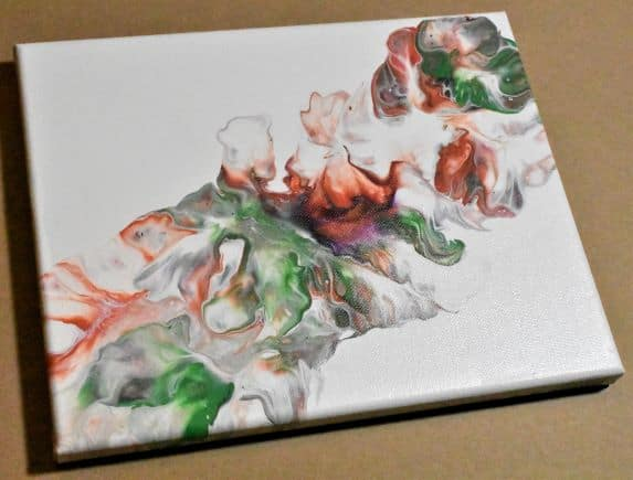 Day 17 Acrylic Pouring Color Theory Series