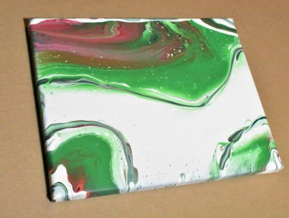 Day 20 Acrylic Pouring Color Theory Series