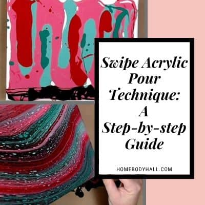 Swipe Acrylic Pour Technique A Step-by-step Guide