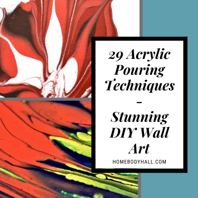 29 Acrylic Pouring Techniques - Stunning DIY Wall Art