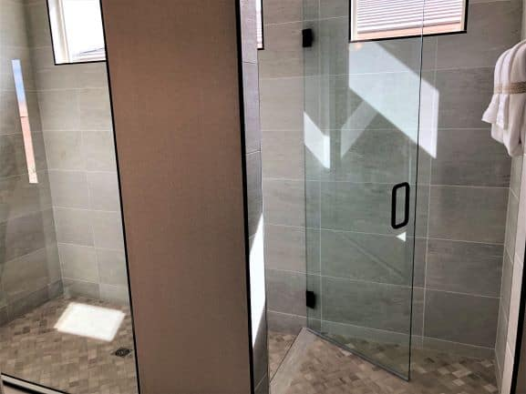 2020 Home Trends Shower Staging Area