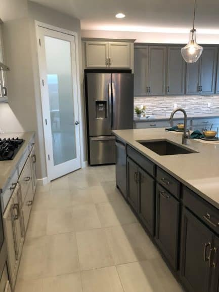 2020 Home Trends Two-tone Cabinets