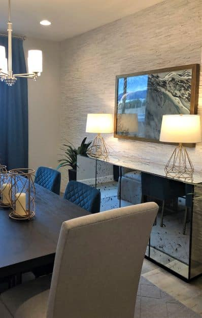 2020 Home Trends Texture, Stacked Stone Accent Wall