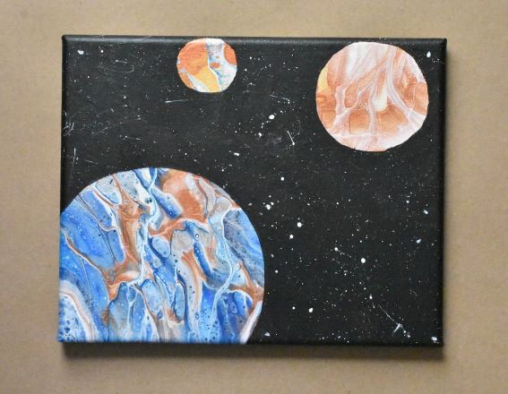 space painting complete