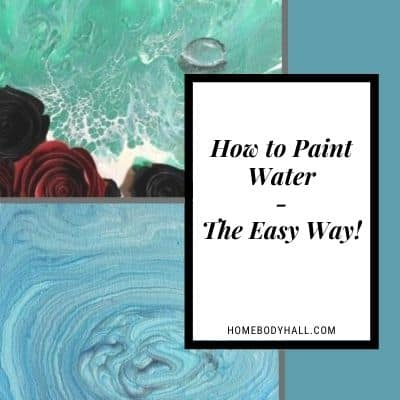 How to Paint Water (The easy way!)